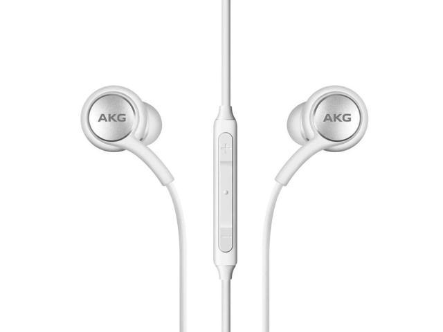 Image of Samsung Type-C Earphones Tuned by AKG w/ Ear Gels For Galaxy Note 10 - White
