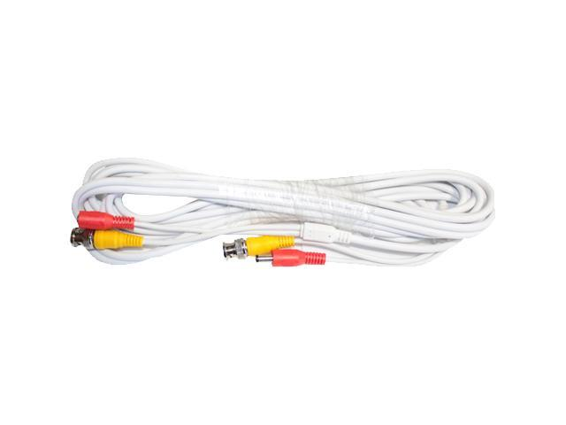 100 ft CCTV HD Security Camera All-in-one Video BNC Cable w// DC Power Supply cwb