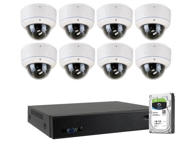 GW 8 Ch. Full HD 5 in 1 XVR 2TB HDD Security System