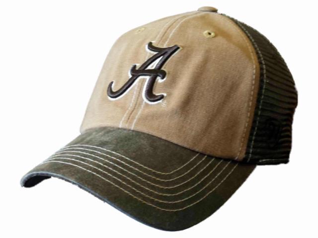 68d7b52bb0191 ... cheap alabama crimson tide tow brown two tone incog adj snapback mesh  hat cap a69ef 3093b