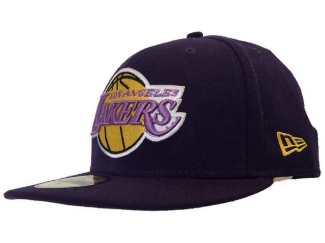e00ff9a57a0 Los Angeles Lakers New Era 59Fifty Hardwood Classic NBA Fitted Hat Cap (7)