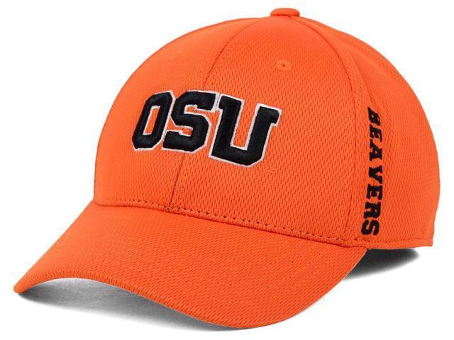 newest 80864 7c975 Oregon State Beavers TOW Orange Booster Memory Flexfit Structured Golf Hat  Cap
