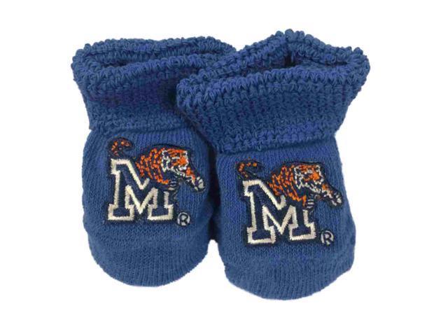 270073f8796b9 Memphis Tigers Two Feet Ahead Infant Baby Newborn Royal Blue Socks Booties  - Newegg.com