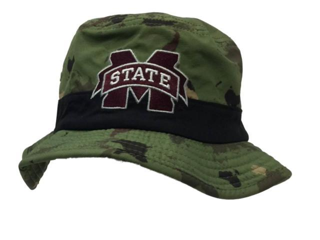 Mississippi State Bulldogs Adidas Green World Map Bucket Hat Cap (S M) 4888cc07871