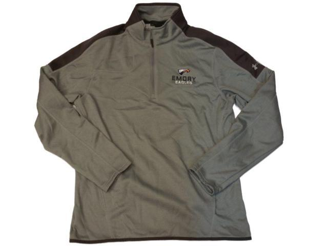 1185b709 Emory Eagles Under Armour Loose Fit Coldgear Gray LS 1/4 Zip Pullover  Jacket (L) - Newegg.com