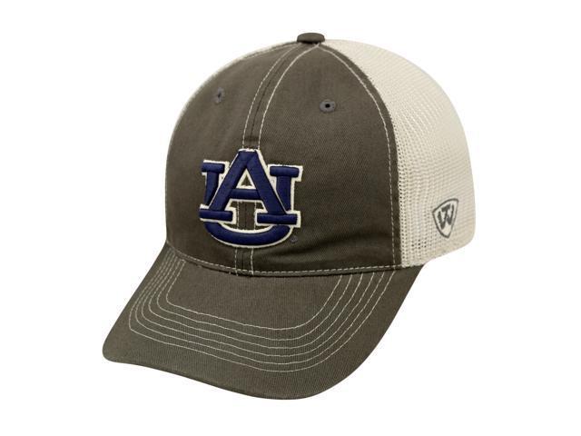 hot sale online a311f d0ccc Auburn Tigers TOW Gray Two Tone Putty Mesh Flexfit Slouch Hat Cap