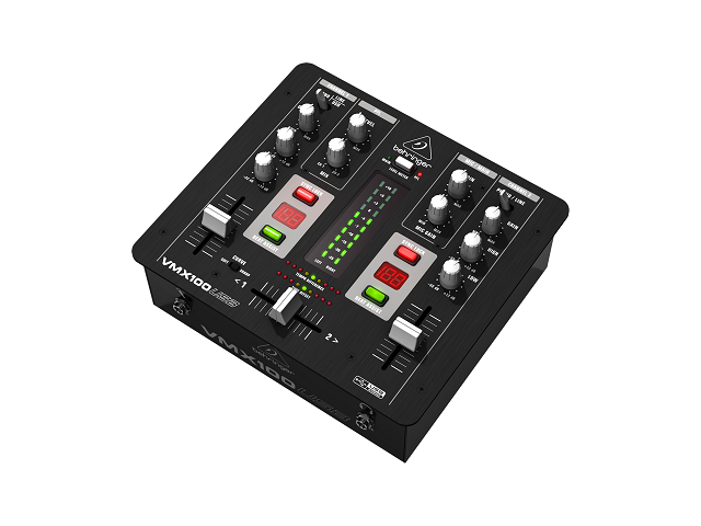 Behringer VMX100USB Professional 2-Channel DJ Mixer with USB/Audio  Interface, BPM Counter and VCA Co - Newegg com