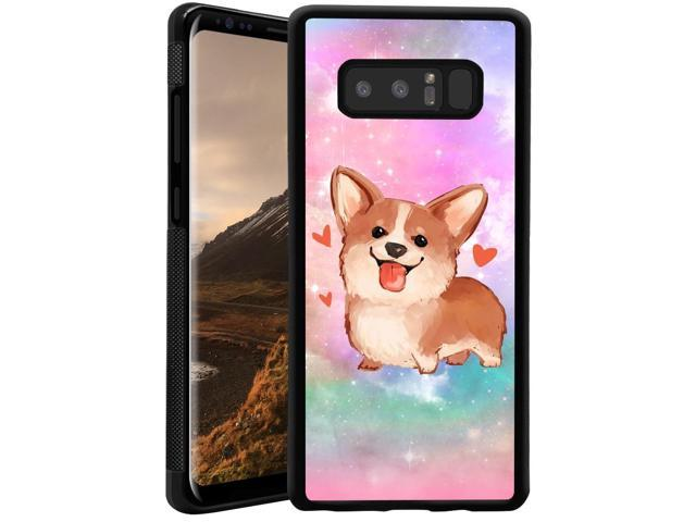 Samsung Galaxy Note 8 Case Anti Scratch Protective Cover Galaxy Cute Corgi Dog Case Onelee Newegg Com
