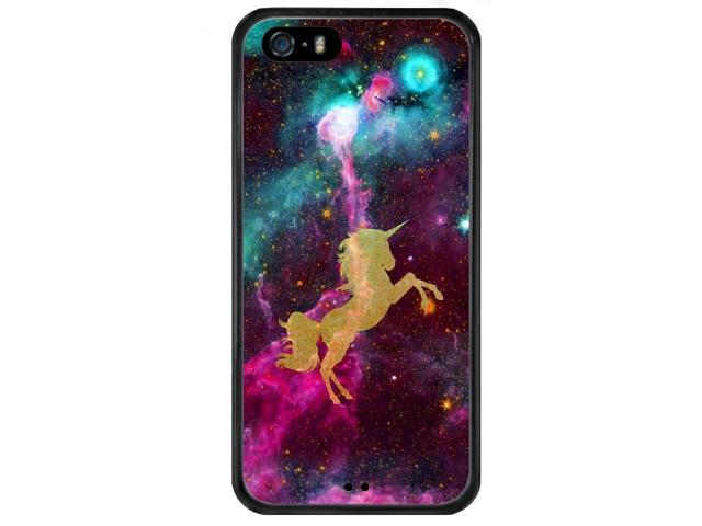 Case for iPhone 5s 5 SE Galaxy Unicorn