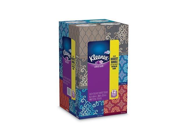 Kleenex Ultra Soft Facial Tissues 12 pk., 75 tissues