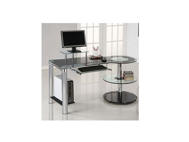 Innovex Orbit Desk Black Chrome Innovex Orbit Desk Black