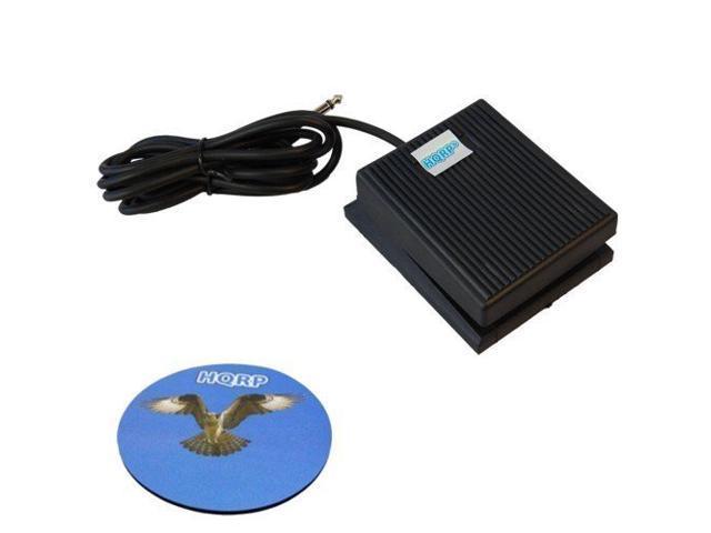 YPT-420 YNP-25 DGX-205 YPT-220 Keyboard Sustain Pedal PSR-E213 CP4 CP40 PSR-E223 HQRP Footswitch for Yamaha NP-30 Tyros5 PSR-202
