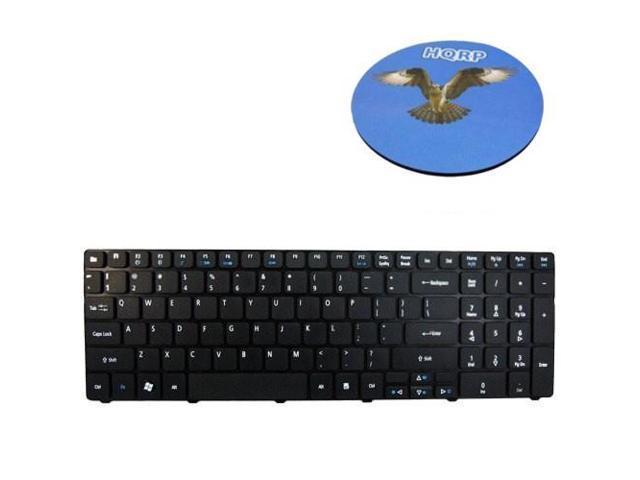 7741 7741G eMachine E442 HQRP Teclado para Acer Aspire 7552G 7740 7741Z