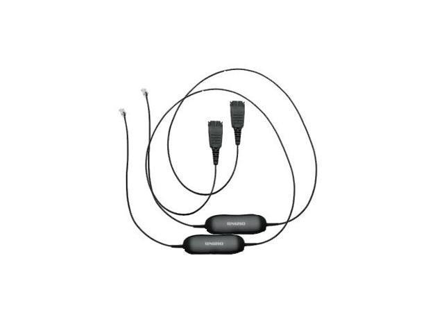 jabra qd smart 20-inch straight cord f   biz  u0026 gn series headsets  5-pack