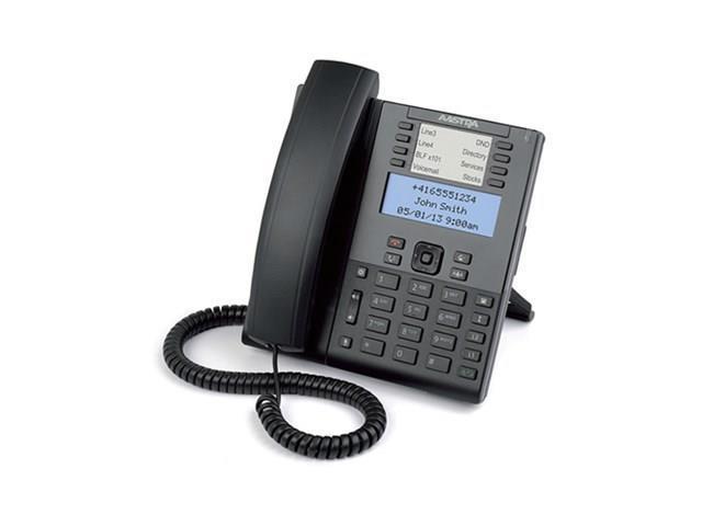 Mitel 6865 Mid range Dual-Port GigE SIP phone - Newegg com