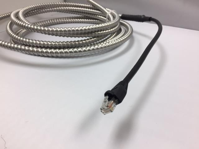 BX ARMORED CAT 6 OUTDOOR ETHERNET WIRE WATERPROOF CABLE RODENT PROOF ...