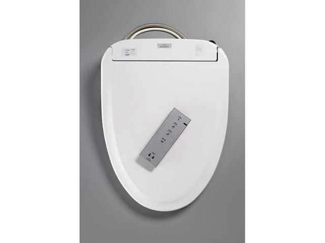 Toto Washlet S300E Elongated front Washlet toilet seat with cover ...