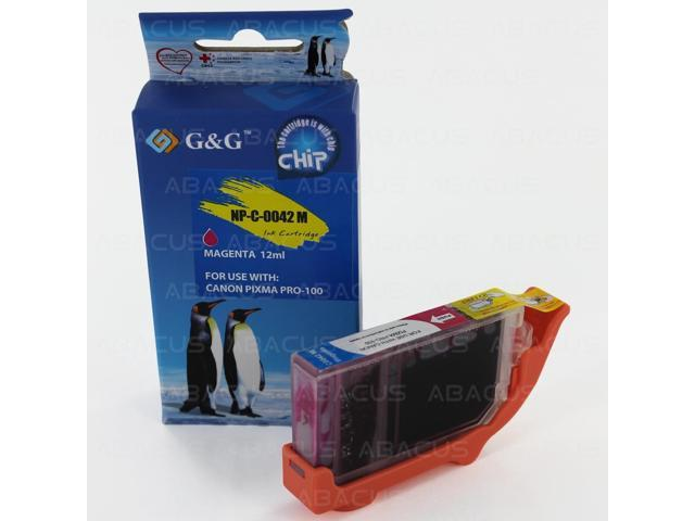 Abacus24-7 Compatible Canon CLI-42 Magenta Ink Cartridge Tank for PIXMA PRO-