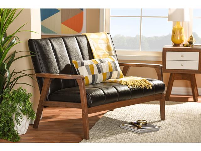 Wondrous Baxton Studio Nikko Mid Century Modern Scandinavian Style Bralicious Painted Fabric Chair Ideas Braliciousco