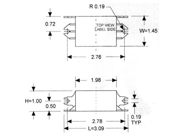REPLACEMENT BALLAST FOR FULHAM SC-120-287-CUV