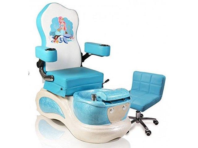 Terrific Kids Pedicure Chair Blue Mermaid Childs Pedicure Spa Nail Salon Furniture Equipment Gmtry Best Dining Table And Chair Ideas Images Gmtryco