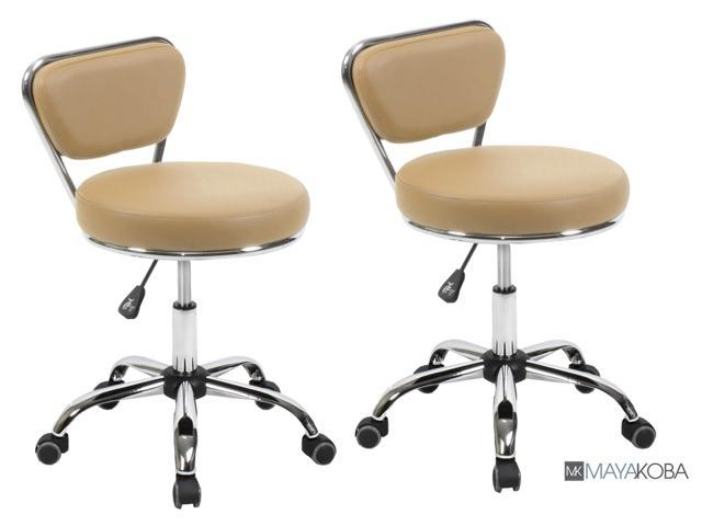 Pleasant Set Of 2 Salon Technician Stool Technician Chair Dayton Cashmere Pneumatic Adjustable Height 19 25 Rolling Ibusinesslaw Wood Chair Design Ideas Ibusinesslaworg
