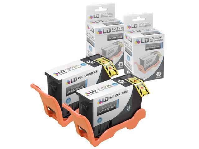 LD © Compatible Lexmark 150XL / 150 / 14N1614 Set of 2 Black Inkjet  Cartridges for Lexmark Pro 715, Pro 915, S315, S415 & S515 Printers -  Newegg com