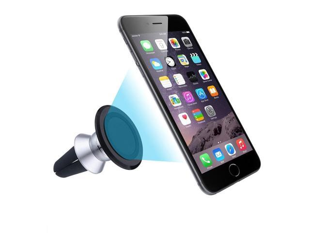 Car Auto Air Vent Magnetic Phone GPS MP3 Holder Mount Stand Black Accessories