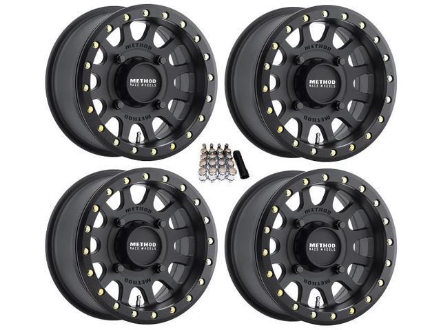 Method 401 Beadlock Utv Wheels Rims Black 14 4 3 Polaris