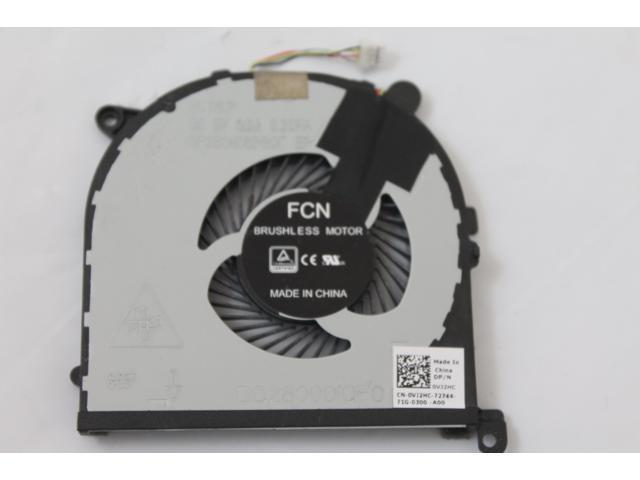 RVTXY GENUINE Dell XPS 9550 Left Side  CPU Cooling Fans