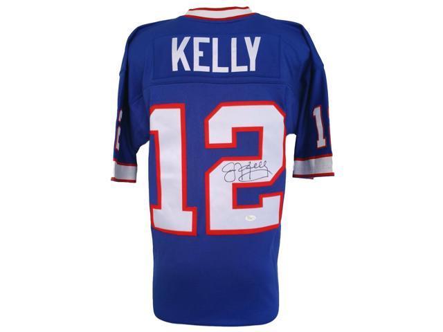 finest selection 2e5a6 801c6 Jim Kelly Signed Buffalo Bills Mitchell & Ness Replica Jersey JSA -  Newegg.com