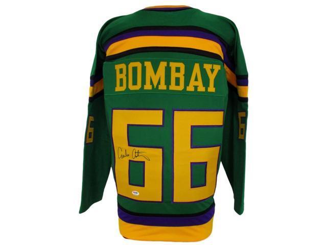 new concept 95a50 6fece Emilio Estevez Signed Gordon Bombay Mighty Ducks Hockey Jersey PSA -  Newegg.com