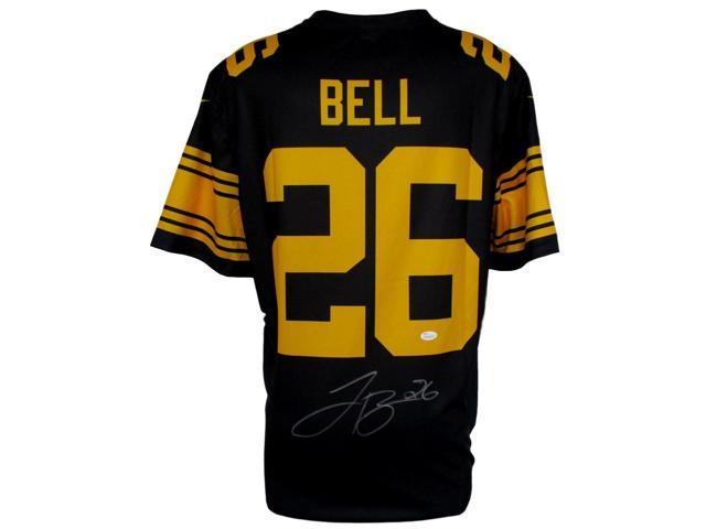 wholesale dealer f1dc1 083b0 Le'Veon Bell Signed Pittsburgh Steelers Nike Color Rush Jersey JSA -  Newegg.com