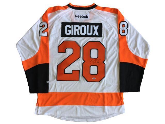 new style f2da7 02cab Claude Giroux Signed Autographed Philadelphia Flyers White Reebok Jersey  PSA - Newegg.com