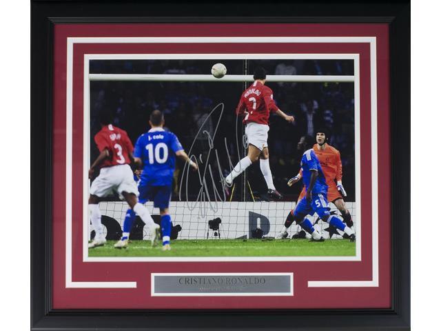 hot sale online 420b4 ca010 Cristiano Ronaldo Signed Framed Manchester U 12x16 UCL Goal Soccer Photo  Icons - Newegg.ca