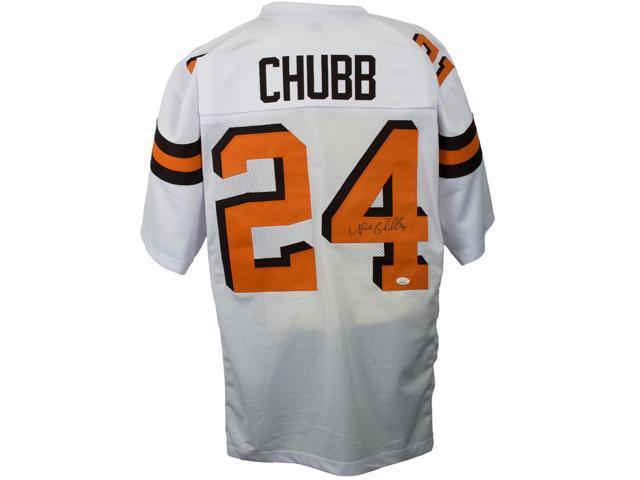 release date: 2e011 48170 Nick Chubb Signed White Custom Pro-Style Football Jersey JSA - Newegg.com