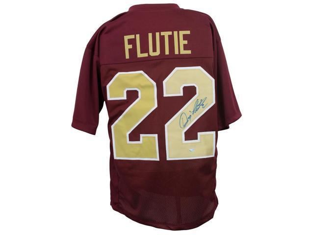 Doug Flutie Signed Custom Maroon Pro-Style Football Jersey SI - Newegg com