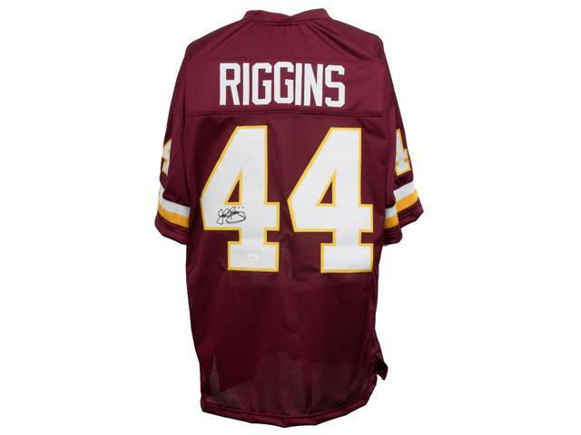 sale retailer ad3e1 9dbc5 John Riggins Signed Custom Red Pro-Style Football Jersey JSA - Newegg.com