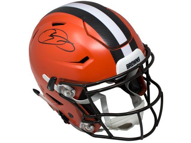 new arrival 28755 5b315 Odell Beckham Jr Signed Cleveland Browns Authentic Full Sz SpeedFlex Helmet  JSA - Newegg.com