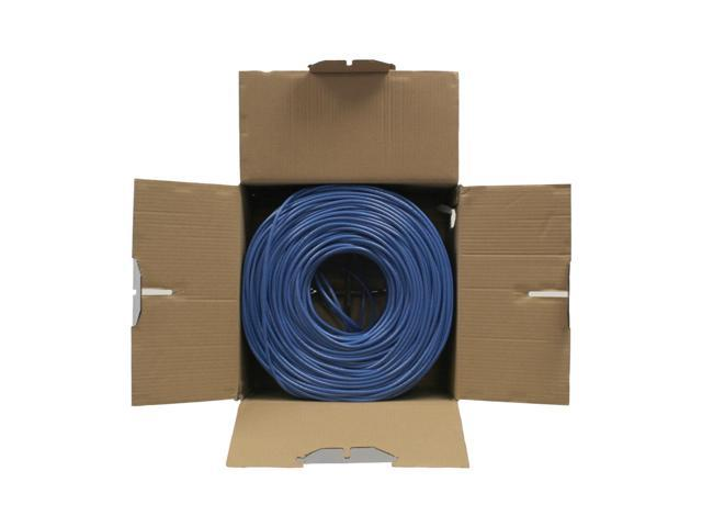 100FT CAT6A 10G OUTDOOR Solid-Bare Copper Bulk Cable