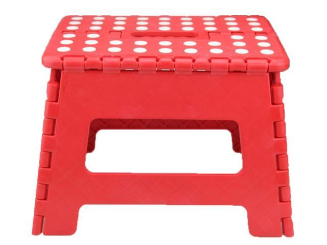 Excellent Heavy Duty Folding Step Stool Small Foldable Step Stool W Gripping Surface Portable Kitchen Step Stool Ncnpc Chair Design For Home Ncnpcorg