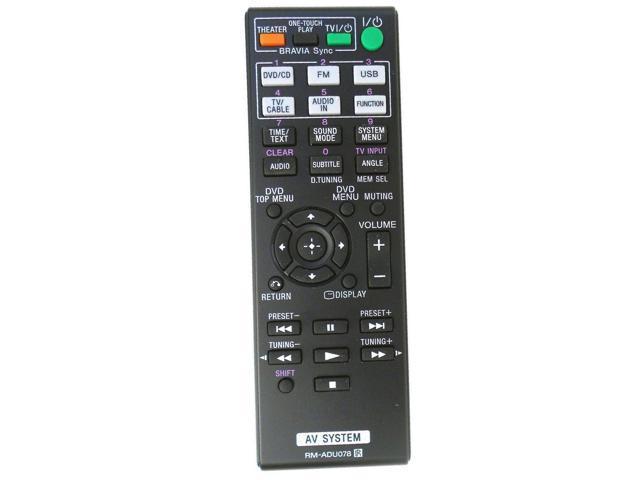Gorilla babo Universal Remote for Sony Audio/Video Receiver DAVDZ170  DAV-DZ170 DAV-DZ171 DAVDZ171 DAVDZ175 DAV-DZ175 DAV-TZ210 DAV-TZ510  HBDDZ170