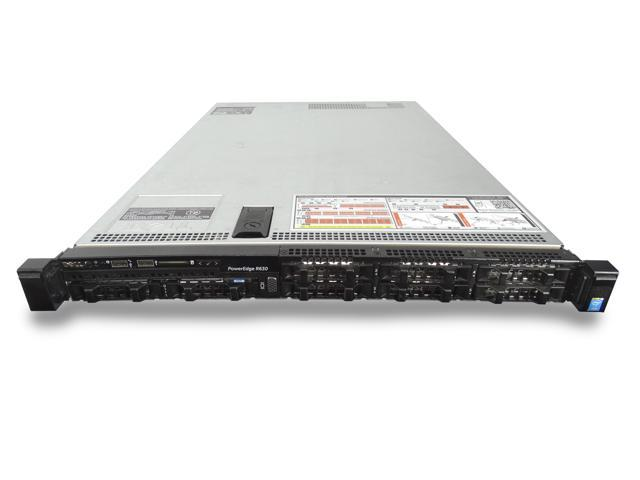 Refurbished: Dell PowerEdge R630, 2x 2 6GHz 14-Core Xeon CPU's, 32GB DDR4,  8x 600GB 10K SAS, PERC H730p, 2x Power Supplies, Rails, Front Bezel -