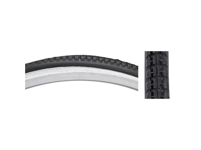 Sunlite Tire 26X1-3//8 Black//Black Street K103