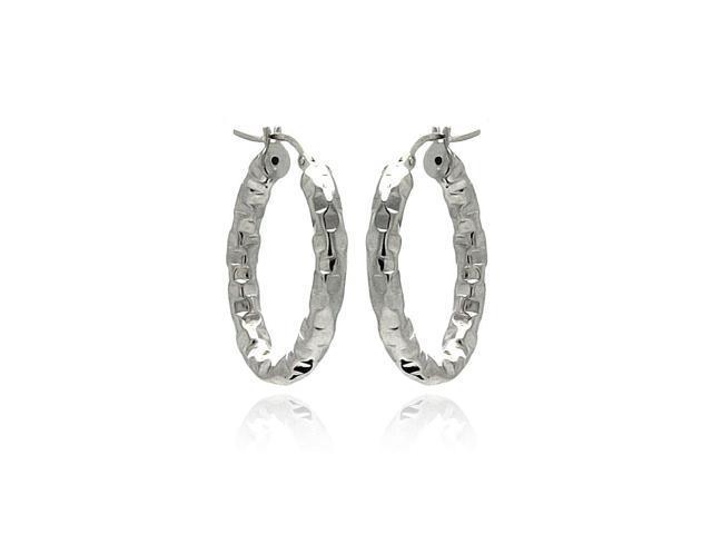 66e8839c2 Sterling Silver .925 Hoop Earrings Ladies Jewelry 567-ite00024rh ...