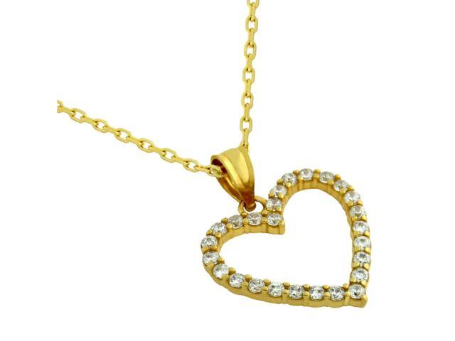 17mm Silver Yellow Plated I Love Fishing Charm