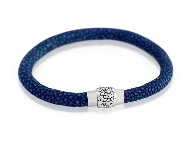 925 Sterling Silver Blue Stingray