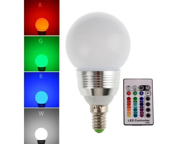 Mr rgb led lamps full color changing led bulbs