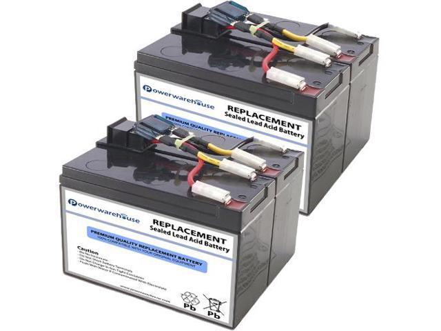 Powerwarehouse APC DLA750I UPS Battery - Premium Powerwarehouse 12V Lead  Acid Battery Catridge #48 (2 Pack) - Newegg com