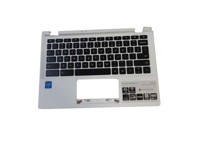 acer chromebook 11 cb3 111 white upper case palmrest keyboard
